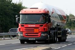 SCANIA P420 FN09AHD CALOR GAS (WESTROWMAN) Tags: calorgas tanker a11kennett scaniap420 scaniatruck