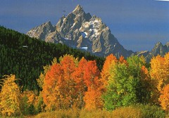 Grand Teton National Park, Wyoming, U.S.A. (caijsa's postcards) Tags: mountains wyoming usa nationalparks grandteton autumn scenery landscape