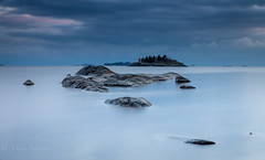 The Sound of silence (Mika Laitinen) Tags: balticsea europe finland helsinki leefilters scandinavia uutela vuosaari beach blue calm cliff cloud color landscape longexposure nature ocean outdoor rock sea seascape serene shore sky sunset water helsingfors uusimaa fi