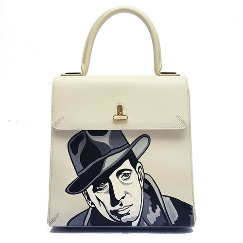 Charlotte Olympia hand painted Bogart Bag