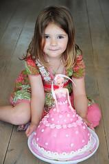 Happy 5th Birthday, Leanne (Gerry van Gent) Tags: barbie cake birthday