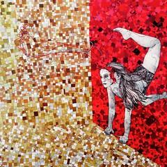 (ANTONIOM.) Tags: illustrazione paper magazines colours design artdeco recyclingart handmade papermosaic collage mosaico omenettti