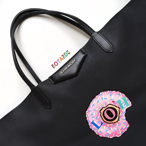 badge doughnut loh givenchy tote copy