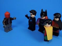 The Outlaw (MrKjito) Tags: lego minifig super hero comic comcis jason todd red hood bat family nigthwing girl robin son damian wayne dick grayson barbra gordon tim drake batman antihero