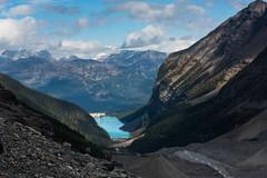 Plain of Six (jfusion61) Tags: canada canadianrockies rockies banffnationalpark lakelouise plain six glaciers mountains landscape field clouds nikon d810 2470mm polarizing filter