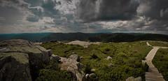 Mont du Lac de Signs (theaterculture) Tags: panorama landscape quebec olympus hugin sepac parcdesgrandjardins montdulacdesign