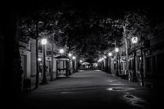 _MG_7606 (cescasals) Tags: longexposure blackandwhite blancoynegro monochrome night photography europe streetphotography girona bn streetphoto costabrav