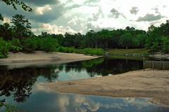 Saint Marys River, Baker County, Florida (BDM17) Tags: county trees sky beach water saint st sand baker florida marys fl macclenny