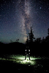 Aliens Exist (Leo Fremonti Outdoor Photography) Tags: light nature way stars landscapes nightscape milky milkyway