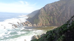 The Bloukrans River Mouth - Otter Trail (Rckr88) Tags: ocean travel sea cliff mountains nature water river southafrica outdoors coast waves wave rivers coastline wilderness gardenroute tsitsikamma easterncape rivermouth bloukrans ottertrail rockycoastline tsitsikammanationalpark bloukransriver