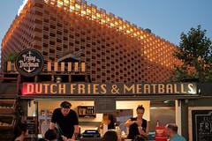 Fries 'n Meatballs (verogabri) Tags: street food holland bar restaurant milano fires meatballs pavillion duch expo2015