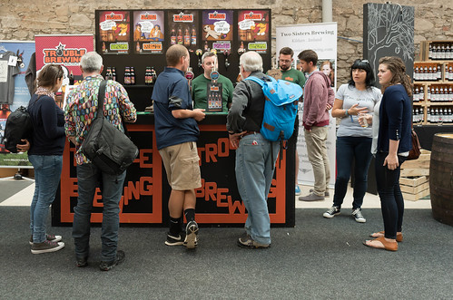 IRISH CRAFT BEER FESTIVAL IN THE RDS LAST WEEKEND IN AUGUST 2015 [TROUBLE BREWING] REF-107281