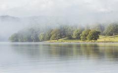Across Windermere (Vemsteroo) Tags: morning light mist lake reflection nature water beautiful fog sunrise canon landscape lakedistrict scenic cumbria fells 5d f4 atmospheric windermere 70200mm mkiii beautyinnature visitbritain