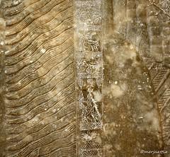 Detail of the slab depicting a standing genie (Merja Attia) Tags: museum turkey istanbul palace relief ii marble slab genie ashurnasirpal nimrud kalhu assumasirpal museumoftheancientorient