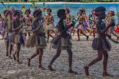 Sing-sing Dancers, Kitava Island, Papua New Guinea (bfryxell) Tags: dancer papuanewguinea singsing oceania melanesia kitavaisland trobriandislands