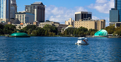 Downtown Orlando from Lake Eola (Vimlossus) Tags: