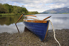 AS GOOD A PLACE AS ANY  -  (Selected by GETTY IMAGES) (DESPITE STRAIGHT LINES) Tags: autumn england sky cloud lake mountains fall nature wet water clouds landscape countryside boat nikon cloudy hill shoreline lakedistrict overcast bluesky september hills shore cumbria getty rowboat derwentwater gps woodenboat keswick mothernature thelakes gettyimages oars forhire moored thelakedistrict rowingboat onwater d7000 nikongp1 nikond7000 keswickboatlaunch nikon55300mmvr