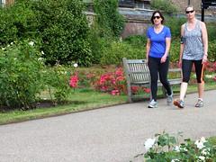 London Runner (Waterford_Man) Tags: girls people london path running run jogging runner jog jogger camdid