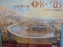 Museum Shop Poster: Ephesus (Then) (hecticskeptic) Tags: turkey ephesus libraryofcelsus templeofhadrian bouleuterion nymphaeumtraiani markamorgan