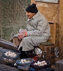 Old seller (FM Photographer) Tags: africa fez medina marroc mercadomarket feselbali viejooldman ancianoelderly zocosouk