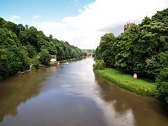 River Wear Durham 2805 (saxonfenken) Tags: reflection river durham wear vanishing 7547 pregamewinner 7547river