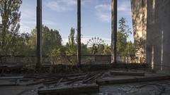 Window View (oilyragg) Tags: park urban wheel day may ferris exploration kiev dodgems chernobyl urbex pripyat