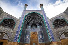 Jameh Mosque, Esfahan. (Tobias Danz) Tags: architecture facade iran persia mosque esfahan isfahan jame jameh maschet