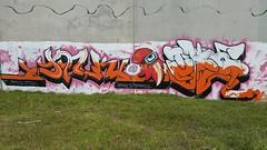 Yolk & Tera... (colourourcity) Tags: streetart graffiti awesome melbourne burner joiner yolk tera nofilters burncity colourourcity traone
