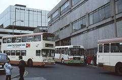 SYPTE 1547 Sheffield (Guy Arab UF) Tags: street 2002 man bus buses station al pond south sheffield yorkshire alexander articulated leyland fleetline pte 1547 sypte goppel fe30agr dak302v sg192r she547s