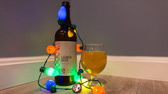 Trillium Brewing Co. - Launch Beer (c-g-b) Tags: christmas beer lights trillium ale christmaslights beerbottle hops paleale craftbeer beertography mabeer launchbeer trilliumbrewingco