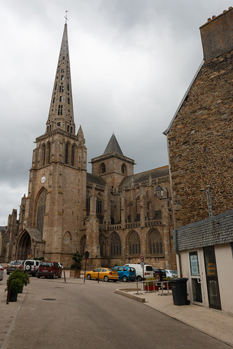 La Cathédrale Saint-Tugdual à Tréguier