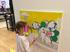 ateul3 (mc1984) Tags: atelier kids painting mc1984 canvas posca acrylique brushes