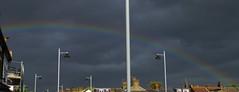 Departing Storm (ArtGordon1) Tags: rainbow clouds cloud thunderstorm weather sky davegordon davidgordon daveartgordon davidagordon daveagordon artgordon1 walthamstow london england e17
