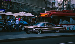 Old school ride (Master Iksi) Tags: street streetphotography outdoor cars oldtimer classic beograd belgrade srbija serbia road traffic canon 700d vehicle car