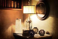 Il progetto ... (Augusta Onida) Tags: lorsica indoor liguria italia italy comodino camera letto room bed luce light