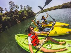 Victory (artruds) Tags: azul nature forrest water kayak gopro portrait swimming adventure balance arturonoriega luisarturonoriega noriega boat kids sunset sun afternoon happy