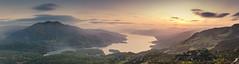 Loch Katrine Sunset (Northaway Photography) Tags: landscape landscapes scotland uk highlands trossachs lake loch water sunset panorama