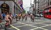 The Dress code - Tea at the Ritz (Le monde d'aujourd'hui) Tags: ritz london street dresscode bus londonbus theritz unionjack redbus naked cycle wnbr worldnakedbikeride 2016 june protest cycling nude nakedbikeride city picadilly timeout