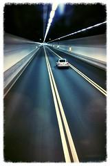 Inside tunnel (C. Alice) Tags: summer street korea asia hongkong road car tunnel htc one e8 2015 favorites30