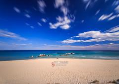 Lido_di_Orri_20161008_0077-Pano-Edit (ivan.sgualdini) Tags: beach october ogliastra sand sardegna sardinia sea spiaggia longexposure polarizzatore paradise alone