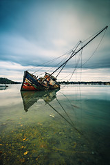 L'heure de la retraite a sonn (Ludovic Lagadec) Tags: stmalo quelmer bateau canon6d cimetiere cimetieredebateaux illeetvilaine riviere rance reflets river reflection longexposure landscape longueexposition ludoviclagadec france filtrend filtre dream poselongue paysage plage armor marin mare mer manche matin morning nisi gnd8 bw110 bretagne breizh brittany beach bretagnenord