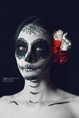 CATRINA (Brenda Echeverria) Tags: catrina mexico photo photography brendaecheverria work makeup zacatecas photografo canon canonmexico