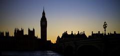 Chim-chim-a-ney, Chim-chim-a-ney (chris.ph) Tags: bigben bluehour sunset london water thames bridge lamppost silhouette chimney light canon6d ef24105mmf4lisusm night architecture