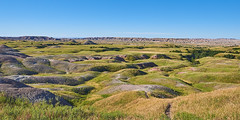A hill or two (green2mm1) Tags: badlands southdakota landscape hilly grass vast expanse