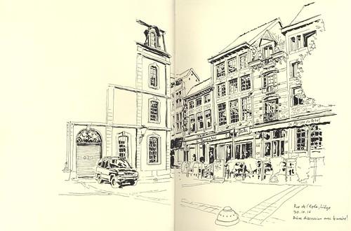 Rue de l'Epée - Liège
