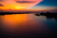 Mekong (zirano) Tags: mekong vietnam sunset cloud sky beach nature sea