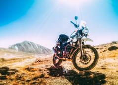 Make your own road (Motographer) Tags: royalenfield himalayan motorcycle motorbiking motography motographer motorcylegetaways himalayas northsikkim gurudongmar easternhimalayas lensflare landscape mountains winter snow offroad trail olympus omd em1 mzuiko 1240mmf28pro india adventure