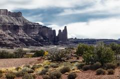 Fisher Towers - Utah USA (MalaneyStuff) Tags: fishertowers utah usa moab hwy128 nikon d5100 landscape 2016 october