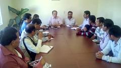 En #Huajuapan se desarrolló reunión  para atender la problemática educativa en el mpio de de San Simón Zahuatlán #Oaxaca  (1)