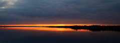 River Sunset (CdnAvSpotter) Tags: sunset sun ottawa river ontario cloudsstormssunsetssunrises clouds landscape fall 2016
